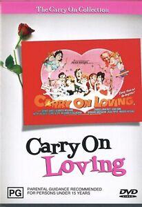 CARRY ON LOVING Region 4 DVD