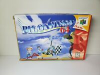 Pilotwings 64 Nintendo 64 Box Manual Complete Game CIB N64 Tested Working