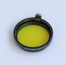 Leica Leitz Gelbfilter A 36