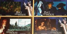 BROTHERHOOD OF THE WOLF - Le Pacte des loups - Lobby Cards Set - Monica Bellucci