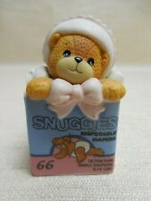 """Lucy & Me """"Snuggies Disposable Diapers"""" Porcelain Figurine 1995"""