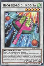 YU-GI-OH CARD: RARE - HI-SPEEDROID HAGOITA - BOSH-EN049