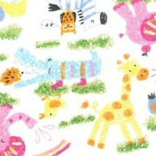White - jungle animals 1 metre