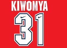 Kiwomya #31 Arsenal Camisa de fútbol local para hogar 1994-1995