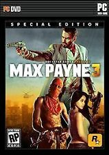 Max Payne 3: Special Edition (PC, 2012)