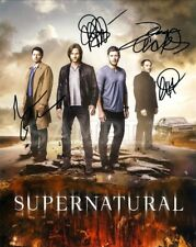 Supernatural signed cast 8x10 Autograph Photo RP - Free Shipping! The CW