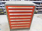 ROUSSEAU INDUSTRIAL 8 DRAWER TOOL STORAGE CABINET  46' X 24' X 36' WITH DIVIDERS