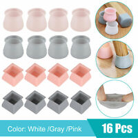 4/8/16pcs Silicone Furniture Leg Protection Cover Table Feet Pad Floor Protector