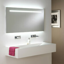 Astro Flair 0762 illuminated rectangular bathroom mirror high output 2 x 54W T5