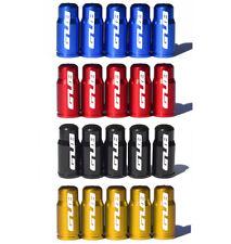GUB Presta Valve Caps - Aluminum - for Road Bike Tubes - All Colors