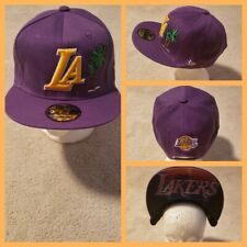 LOS ANGELES LAKERS NBA BASKETBALL SNAPBACK HAT.