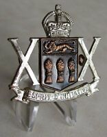 Canada Canadian Forces The Saskatchewan Dragoons Cap Badge KQ WWII WW2