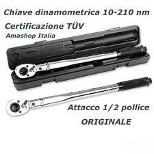 Chiave dinamometrica 10-210 Nm Kgs certificazione TÜV Unitec 20807 NUOVO OFFERTA