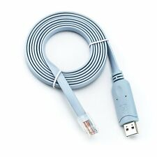 USB a RS232 serial a RJ45 CAT5 Cable Adaptador de consola para los routers de Cisco FTDI