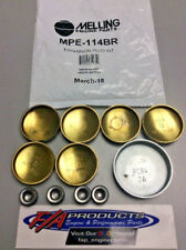 Mopar Big Block 383 400 440 Engines Brass Expansion Plug Kit Melling MPE-114BR