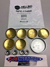 Mopar Big Block 383 400 440 Engines Brass Expansion Plug Kit Melling Mpe 114br Fits 440