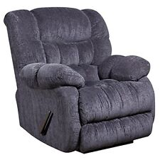 Flash Furniture Contemporary Columbia Indigo Blue Microfiber Rocker Recliner NEW