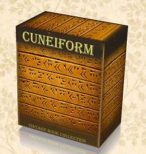 Cuneiform Tablets Books on DVD Akkadian Language Sumerian Assyrian Babylonian 41
