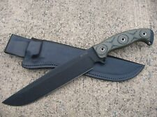 BUSSE Combat 2G Ergo Battle Mistress Knife Custom Molded Leather Sheath BLACK