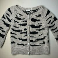 Sleeping on Snow Sweater Cardigan Button Up Anthropologie Wool Mohair Chunky