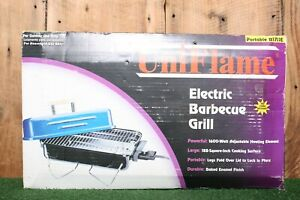 UniFlame Model B1711E Portable Tabletop Electric Barbeque Grill