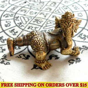 Lord Ganesha Elephant Head God of Success Hindu Amulet Success Wealth Talismans