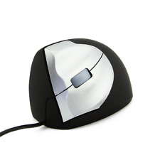 Left Handed Mouse Vertical Wired USB 1600DPI USB Optical Gaming Mice PC Laptop