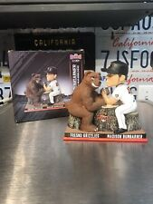 Fresno Grizzlies SGA Madison Bumgarner Arm Wrestling Bear See Pics!!
