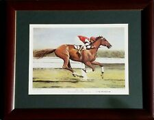 Phar Lap Original Ltd Edition Print 3000/5000 with CD of Tommy Woodcock talking