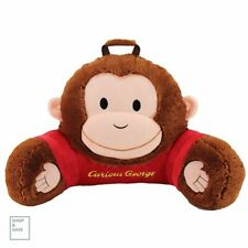 Reading Cushion Kids Bed Rest Animal Adventure Sweet Seats Curious George New