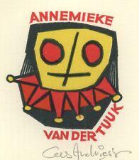 Ex Libris Cees Andriessen : Annemieke van der Tuuk