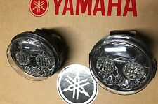 99-08 YAMAHA GRIZZLY 660 & 600 LED HEADLIGHTS CONVERSION KIT- PAIR! USA-4X4 pc
