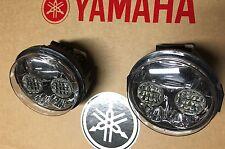 99-08 YAMAHA GRIZZLY 660 & 600 LED HEADLIGHTS CONVERSION KIT- PAIR! USA-4X4 pc