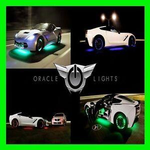 WHITE LED Wheel Lights Rim Lights Rings by ORACLE (Set of 4) for TOYOTA MODELS 1
