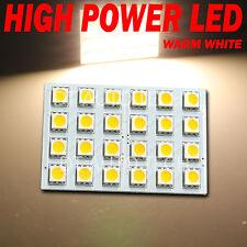 990LM 10X 1156 BA15S RV Trailer Interior LED Light Panel Warm White High Power