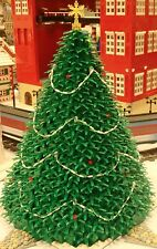 *INSTRUCTIONS ONLY* holiday LEGO CHRISTMAS TREE winter village train 10254 10222
