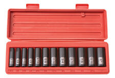 "Tekton 12Pc. 3/8"" Drive 6-Point Deep Impact Socket Set SAE-WARRANTY"