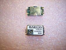 QTY (2)  25 Mhz TCXO SMD OSCILLATORS 5V TX0525E-25.000MHZ RAKON