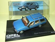 OPEL REKORD E2 CARAVAN 1982-86 Bleu IXO 1:43