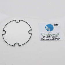 Glass Crystal For DIESEL DZ7257 LITTLE DADDY Chronograph Watch Spare Part C25D