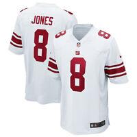Brand New 2020 NFL Nike New York Giants Daniel Jones #8 Game Edition Jersey