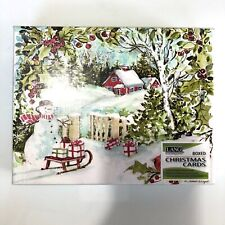 Lang Winter Woods Christmas Cards Box of 18 by Susan Winget DAMAGED BOX
