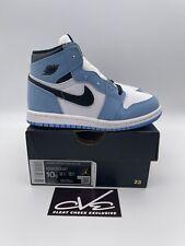 Nike Air Jordan 1 Retro High Toddler University Blue UNC SIZE 10C Ships ASAP