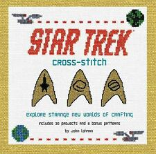 Star Trek Cross-Stitch : Explore Strange New Worlds of Crafting : New Softcover