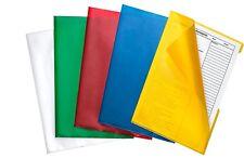 DURABLE bunte Sichthüllen Sichthülle 10 Stück farbig sortiert für Formate DIN A4