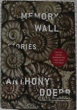 Doerr, Anthony.  Memory Wall Stories.  Signed, First Edition