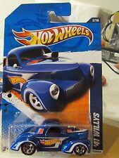 Hot Wheels '41 Willys HW Racing Blue