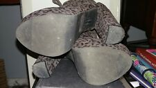 Cheetah Print Heels size 6