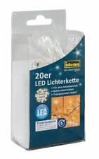 Idena LED Lichterkette 20er warm weiß für innen batteriebetrieben 8582052