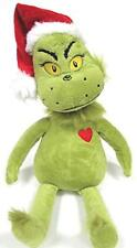 "Dr. Seuss The GRINCH Who Stole Christmas 14"" GRINCH Plush Doll"